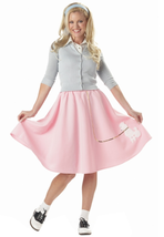 Adult Pink Poodle Skirt - $13.68