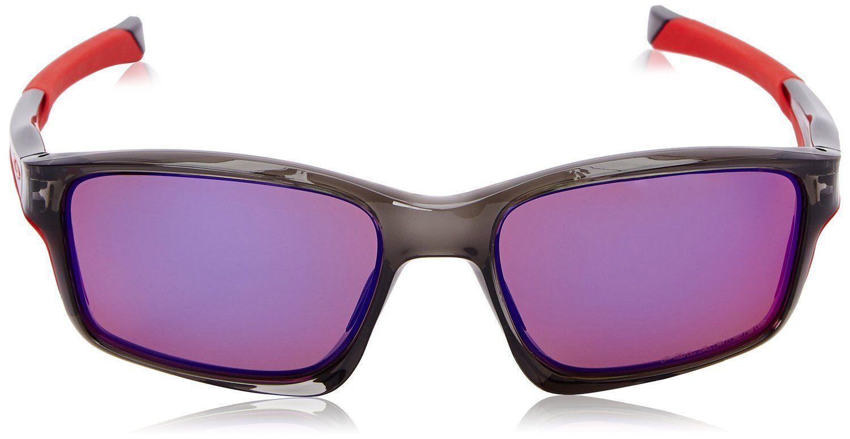7dd69b9645 Nuevo Oakley Polarizados Chainlink OO9247-10 Gris Rojo IRIDIO Gafas de Sol  en