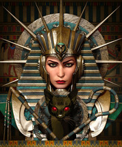 xcf spr Female Pharaoh Vampire Demon Djinn & Her Demon Army Betweenallwo... - $149.50