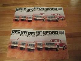 10 Ford Trucks 1982 F Series Pickup car auto Dealer showroom Sales Brochure - $36.99
