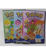 Pokemon Indigo League Season 1 Parts 1 Episodes 1-26 3 DVD Set In Slim D... - $19.79