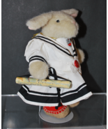 "Hoppy VanderHare Muffy Vanderbear ""All Paws on Deck with Stand NABCO - $19.99"