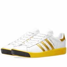 NIB*Adidas*Originals Forest Hills Mens*Sneaker*White Gold Yellow*7-11.5 - $165.00