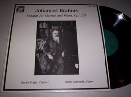 Johannes Brahms: Sonatas for Clarinet and Piano, Op. 120/Harold Wright, Clarinet