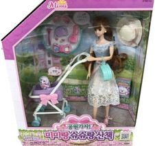 Mimi World Mimi and Shushu Let's go to The Park Figure Toy Doll Rollplay Playset image 5