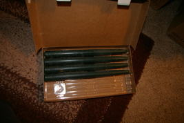 """Partylite Green Tapers 10"""" Evergreen Party Lite - $10.00"""