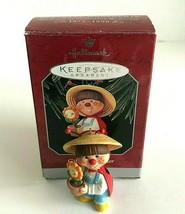 1998 Hallmark Keepsake Gifted Gardener Ladybug Flower Pot Christmas Orna... - $11.99