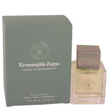 Acqua Di Bergamotto by Ermenegildo Zegna 1.7 oz EDT Cologne Spray for Men NIB - $34.51