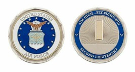 "USAF AIR FORCE SECOND 2ND  LIEUTENANT BAR 1.75""  CHALLENGE COIN - $18.04"
