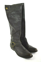 FRANCO SARTO Larriat Women's Brown Artist's Collection Leather Boots Size 6.5 - $38.20