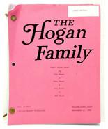The Hogan Family Dad's First Date Jason Bateman Script Sept 23 1988 - $200.00