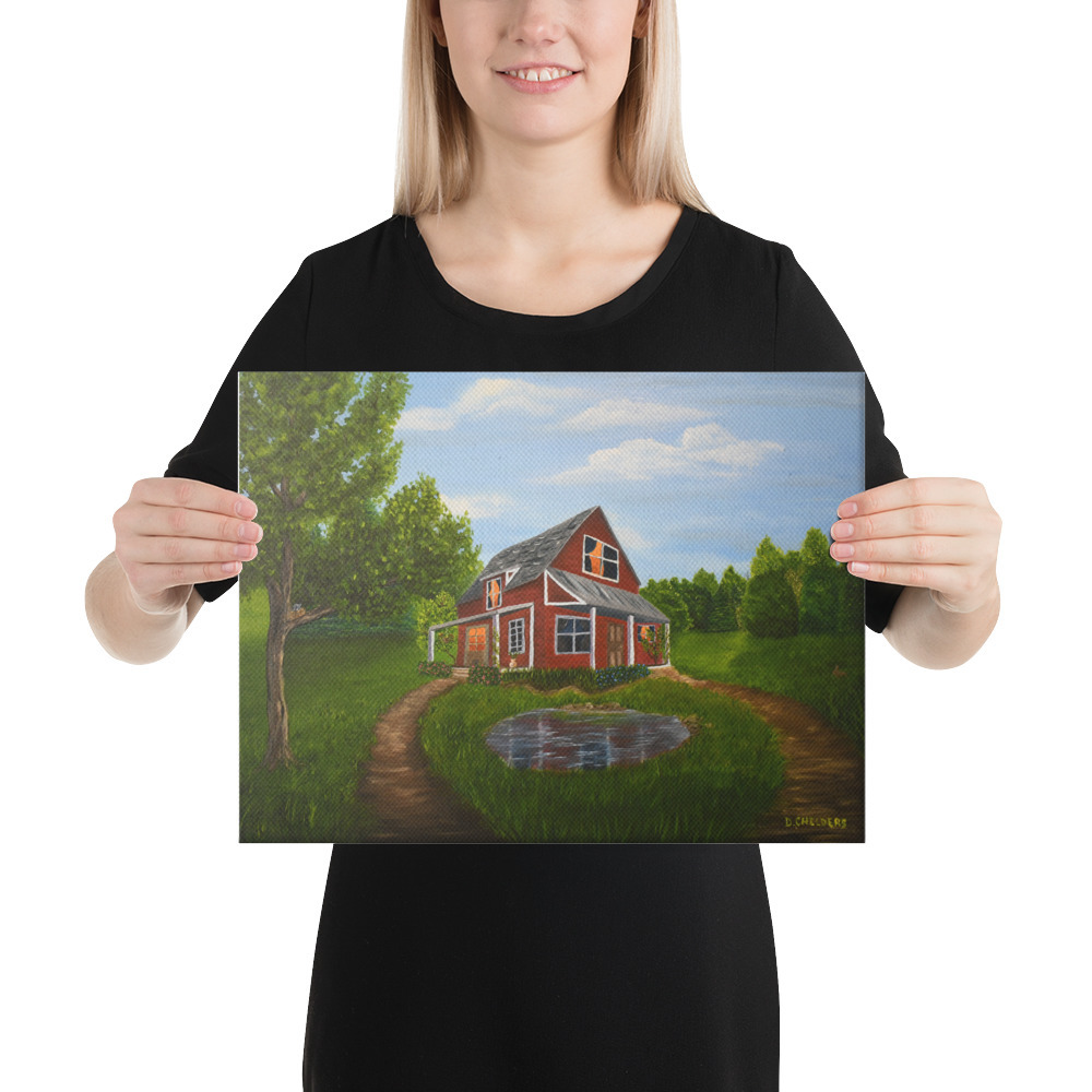 "Primary image for Canvas Print ""Back Home"""