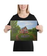 "Canvas Print ""Back Home"" - $56.95+"