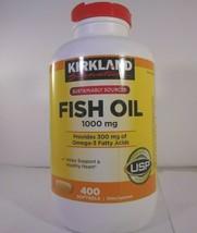 Kirkland Signature Fish Oil 1000 mg 400 Softgels 23-K  - $19.80