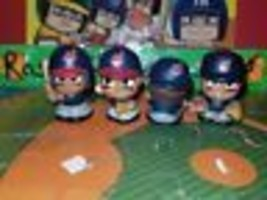 CLEVELAND INDIANS MLB TEENYMATES FIGURE SET TEAM SET! HARD TO GET!!! - $21.12