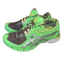 Asics Womens Sz 7.5 Gel Up Start B151N Green Gray Running Shoes Sneakers - $26.48