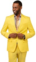 Mens Linen suit VITALI Summer Spring Cocktail party outdoor indoor L3445... - $127.50