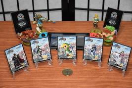 STANDARD Custom Zelda Amiibo NFC Tag Card Super Smash Bros Set (5) - $19.99