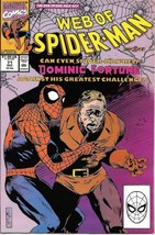 Web of Spider-Man Comic Book #71 Marvel Comics 1990 VERY FN/NEAR MINT NE... - $2.75