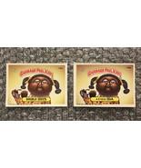 1986 Topps Garbage Pail Kids Original Series Lot: Double Iris & 4-Eyed Ida - $3.92