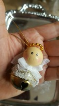 Angel Bell Christmas Tree Holiday Ornament • Pre-owned • Vintage • Nice ... - $5.93