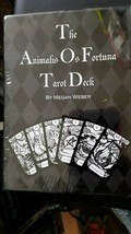 The Animalis Os Fortuna Tarot Deck, large cards, black & white NEW SEALED - $89.08