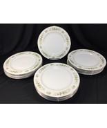 """(16) 10.5"""" Dinner Plates Vintage Fine China of Japan Natalie 3904 Made i... - $199.99"""