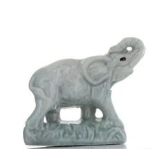 Wade Whimsies Miniature Figurine Whimsie-Land Set 2 Wildlife Elephant image 1