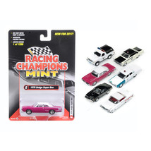 Mint Release 2017 Set A Set of 6 cars 1/64 Diecast Model Cars by Racing Champion - $60.47