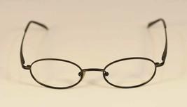 Fossil Ronnie Black Metal Eyeglass Frames Designer Style Rx Eyewear - $9.12