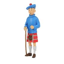Tintin Kilt and Tintin Blue Lotus 2 plastic figurine set image 3