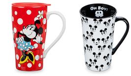 Disney Store Mug Minnie Travel  Mickey Mouse Latte 2017 2019 New - $59.95