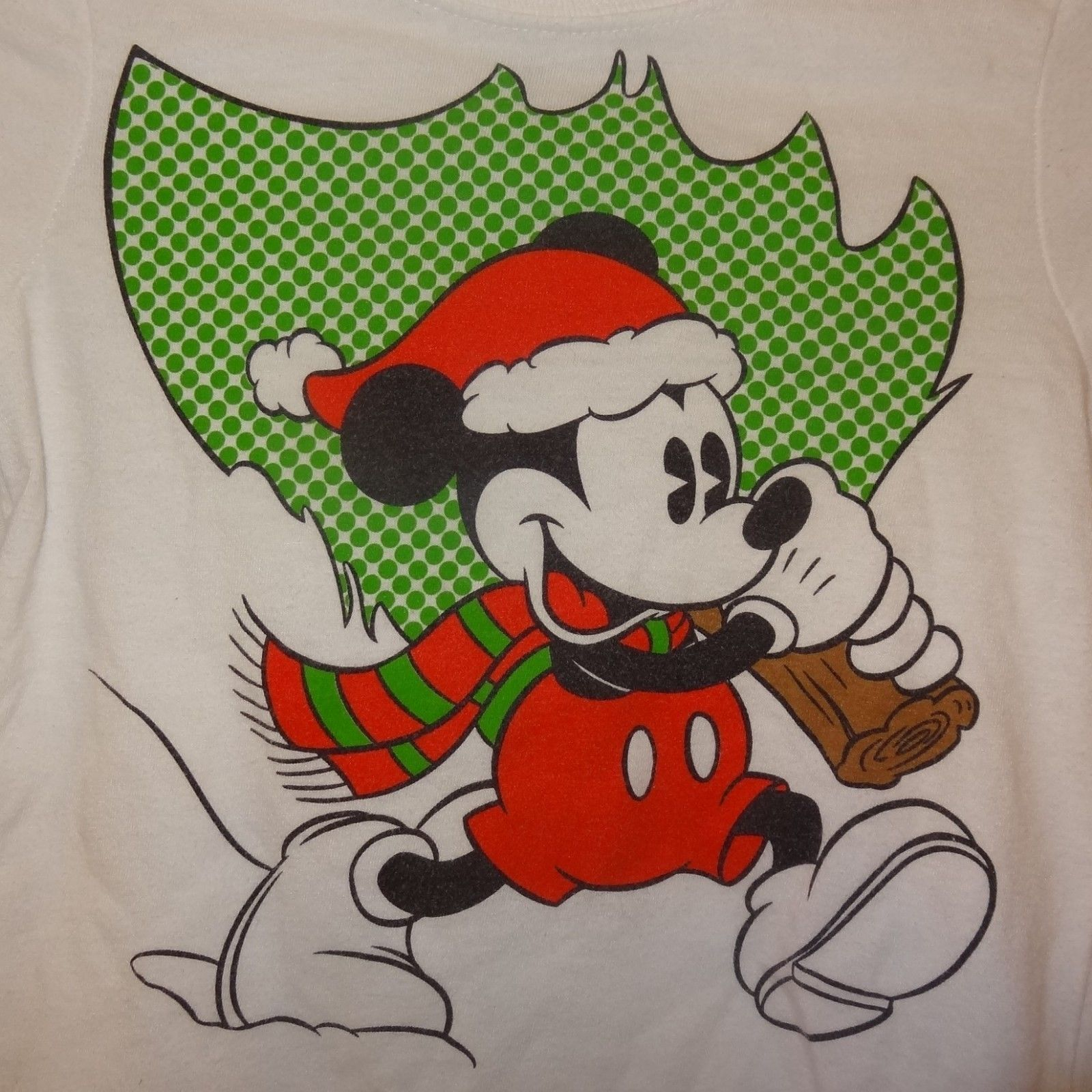 Mickey Mouse Christmas Tree Shirt White Long and 21 similar items