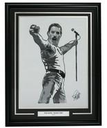 Freddie Mercury Framed Queen 18x24 Artist Print - $217.79