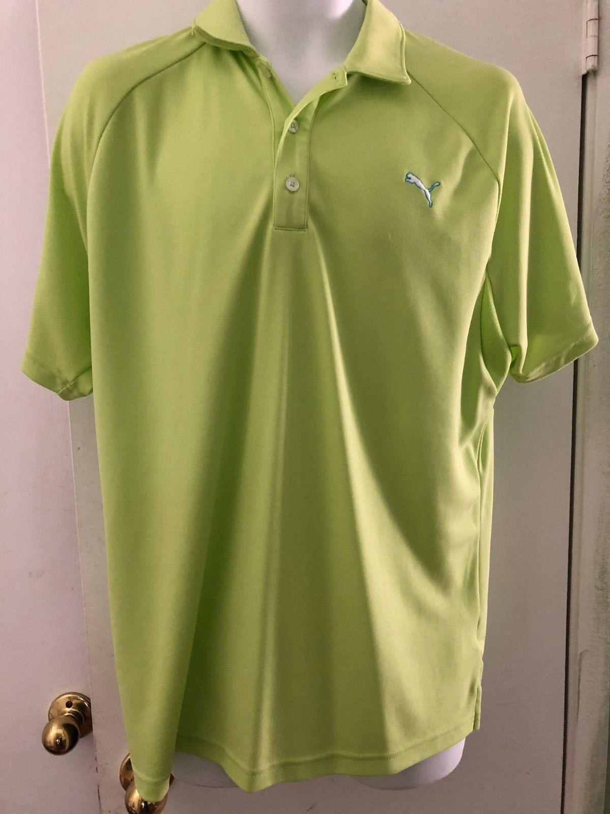 ec0f4da4c4cc Puma Golf Polo Grand Rickie Fowler Vert Bleu and 50 similar items. 57