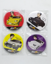Initial D Legend 2: Racer Pinback Button Set Of 4 - Pin Badge New Used - $49.90