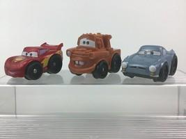 Fisher Price Wheelies Cars 2 Lightning McQueen Mater Finn McMissile Disn... - $16.88