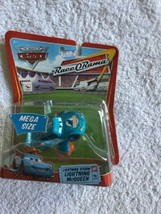 Disney Pixar Cars Mega Size Race-O-Rama Lightning Storm Lightning McQueen  - $29.63