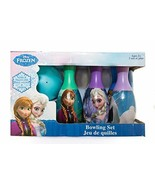 Disney Frozen Elsa Anna Toddler Bowling Toy Set Preschool Indoor Outdoor 7pc New - $17.99