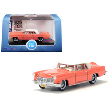 1956 Lincoln Continental Mark II Island Coral with Starmist White Top 1/... - $19.86