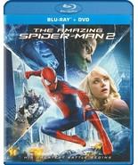 The Amazing Spider-Man 2 Blu-Ray + DVD New Andrew Garfield Emma Stone Ja... - $19.79