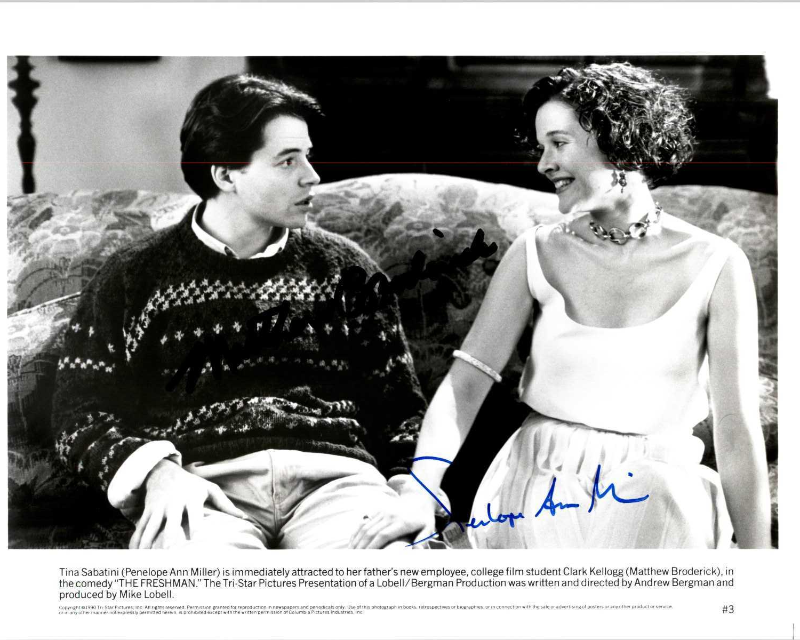 "Primary image for Penelope Ann Miller Signed Autographed ""The Freshman"" Glossy 8x10 Photo"