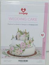 Lovepop LP2118 Wedding Cake Pop Up Card White Envelope Cellophane Wrapped image 5