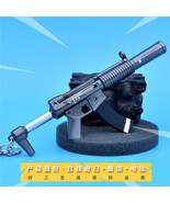 Fortnight Battle Royale Gun Keychain Toy Metal Action Figure Model Gun Toy  - $13.89
