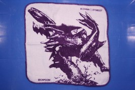 Monster Hunter Capsule Goods P3 Face Towel Wash Cloth Brachydios Crushing Wyvern - $16.99