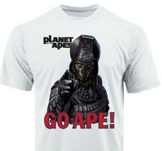 Planet of Apes Go Ape Dri Fit graphic T shirt moisture wicking retro Sun Shirt image 1