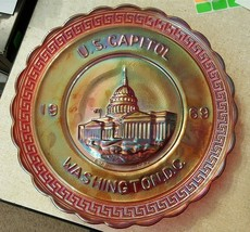 Imperial IG Red Carnival 1969 AMERICA THE BEAUTIFUL Plate 1st Series US ... - $26.00