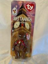 Britannia The Bear-1997 McDonalds Ty Beanie Baby with RARE errors. In box New!!! - $7.27