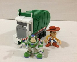 Disney Toy Story Action Links Dump Truck Garbage Truck with Buzz and Woo... - $13.85