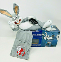 Vintage Looney Tunes Bugs Bunny Couch Remote TV Television Organizer Plush - $39.99